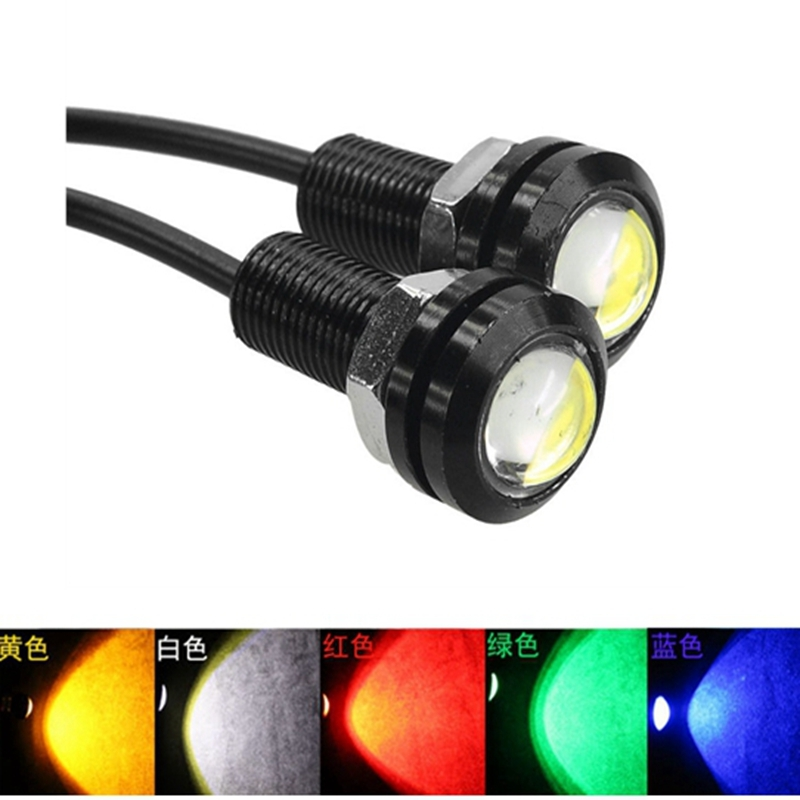 Car styling Car LED Light 18MM Led Eagle Eye DRL Daytime Running Lights Source Backup Reversing Parking Signal Lamps Waterproof car styling 10pcs high brightness drl 23mm eagle eye daytime running light waterproof parking lamp led car work lights source cc