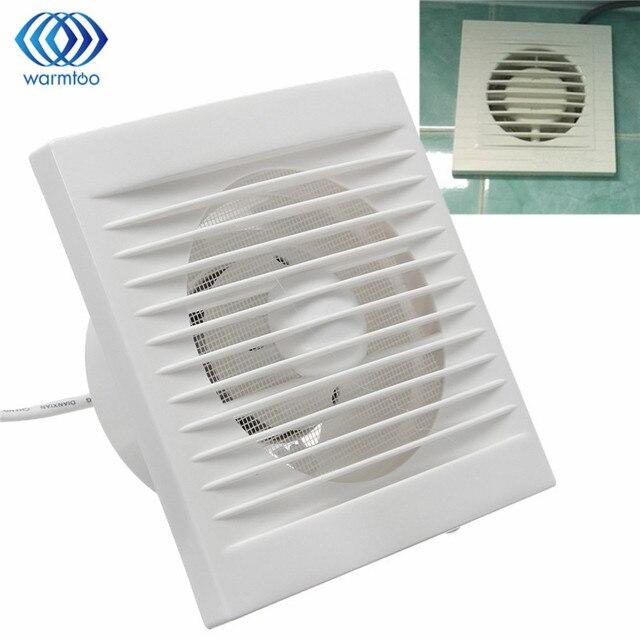 New 12w 220v Hanging Wall Window Gl Small Ventilator Extractor Exhaust Fans Toilet Bathroom Kitchen Fan
