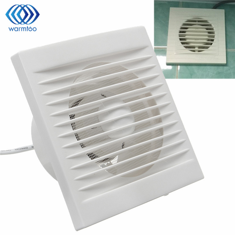 New White 12w 220v Hanging Wall Window Glass Small Ventilator Extractor Exhaust Fans Toilet Bathroom Kitchen
