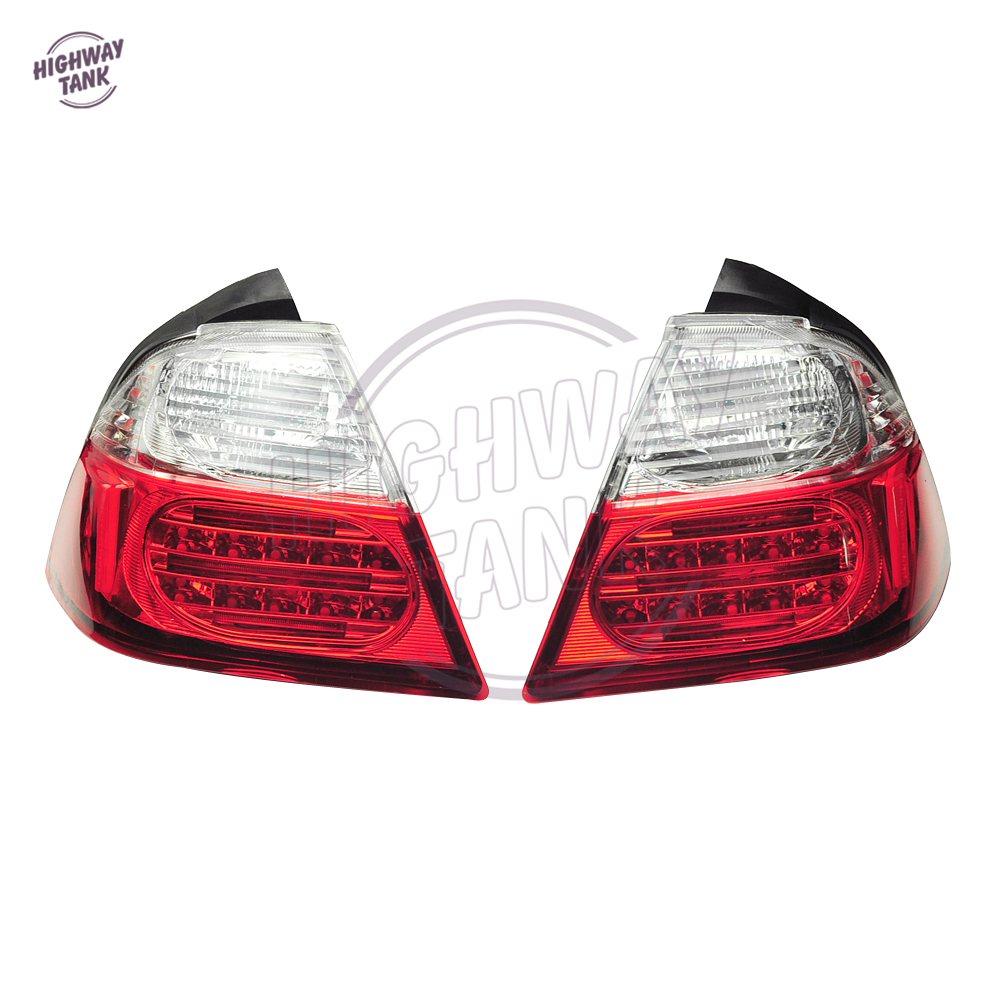 1 Pair Motorcycle Tail Light Brake Turn Signals With LED Motor Brake Lights case for Honda Goldwing GL1800 2006-2009 2010 2011 aftermarket free shipping motorcycle parts led tail brake light turn signals for honda 2000 2001 2002 2006 rc51 rvt1000r smoke