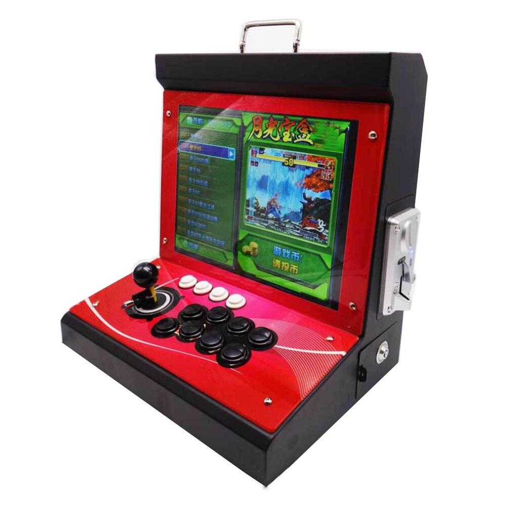 2019 Nieuwste Joystick Consoles, DIY arcade video game machine met 1300 in 1 game pcb board Pandora's Box 6 - 6