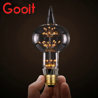 E27 LED Bulb 3W Warm White 220V G80 Edison Style Light Bulb Led Cob Bulb Edison