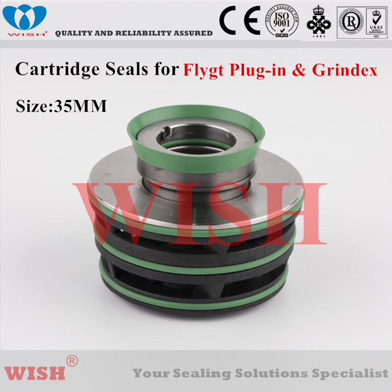 35mm cartridge seal /Flygt plug-in and Grindex pump mechanical seal 2670, 3153, 5100.210, 5100.211, 5100.220 & 5100.22135mm cartridge seal /Flygt plug-in and Grindex pump mechanical seal 2670, 3153, 5100.210, 5100.211, 5100.220 & 5100.221