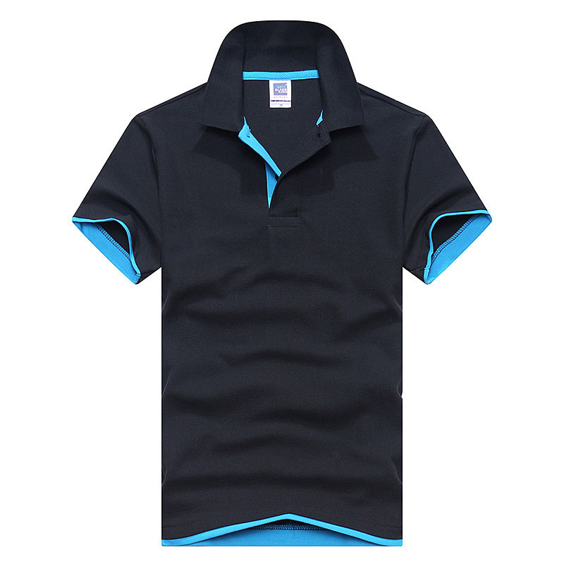 New 2019 Men's brand men Polo shirt D esigual Men's cotton short-sleeved polo shirt sweatshirt T-ennis Free shipping XS-3XL 16