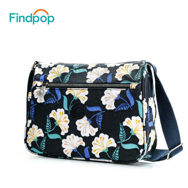 Casual Sling Crossbody Bags For Women Waterproof Small Messenger Bags Fashion Canvas Floral Printing Crossbody Bags 2
