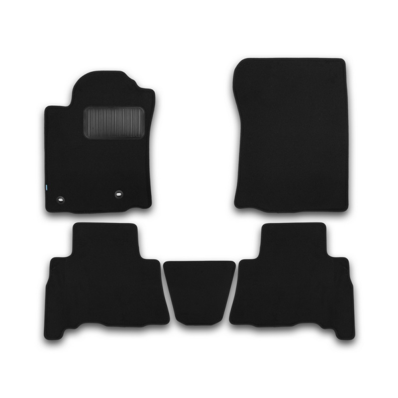 Mats in salon Klever Premium For TOYOTA Land Cruiser 150, 5 seats, 2013-2015, 2015-> внед... 5 PCs (textile) mats in salon klever premium for toyota highlander 2014 внед 5 pcs textile