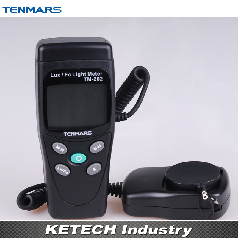 TM-202 3 1/2 LCD Display Digital LUX Meter Illuminometer Light Meter with Maximum Reading 2000