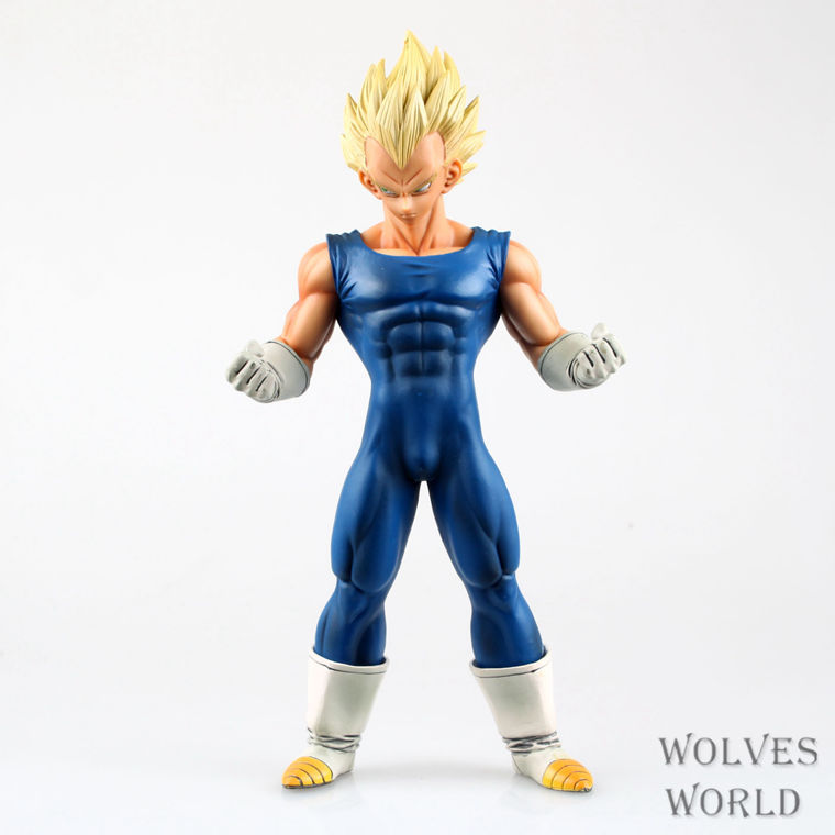 """Free Shipping <font><b>Anime</b></font> <font><b>Dragon</b></font> <font><b>Ball</b></font> Z <font><b>Super</b></font> <font><b>Saiyan</b></font> <font><b>Vegeta</b></font> PVC Action Figure Collection Model Toy 10"""" 25CM #056"""