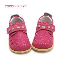 COPODENIEVE/детская обувь; сезон весна-осень; Лоферы для маленьких мальчиков; детская кожаная повседневная обувь без застежки для девочек