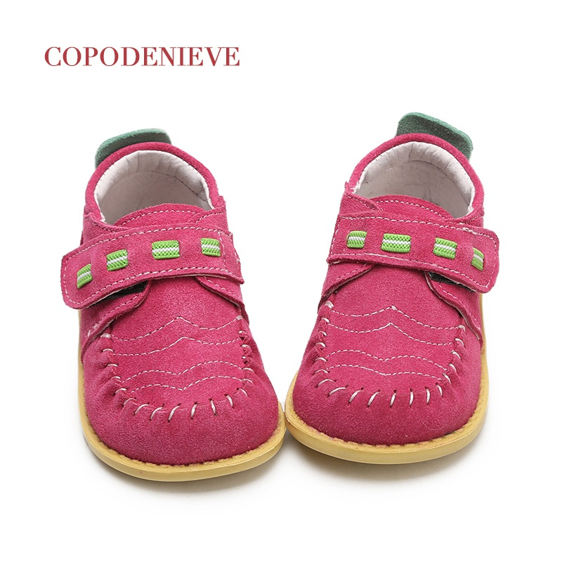 COPODENIEVE Children shoes spring autumn Toddler Little Boys loafers shoes kids Slip-on leather kids casual shoesThe girl