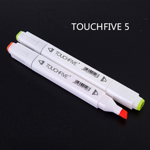 1PCS TouchFive Optional 168 Colors Sketch Markers Alcohol Based Markers Color Marker