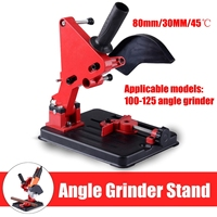 100 125 Angle Grinder Stand Cast Iron Base Angle Cutter Bracket Holder Accessory