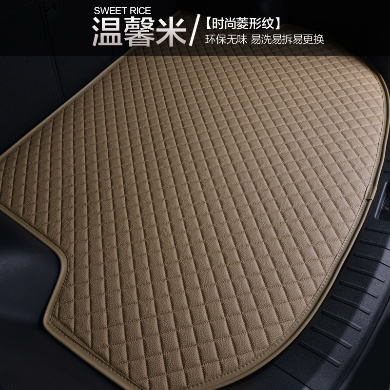 Myfmat custom trunk mats car Cargo Liners pad special for Renault Kadjar Koleos Laguna Scenic Megane Espace new styling trendy custom cargo liner car trunk mat carpet interior leather mats pad car styling for dodge journey jc fiat freemont 2009 2017
