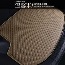 Myfmat custom trunk mats car Cargo Liners pad special for Renault Kadjar Koleos Laguna Scenic Megane Espace new styling trendy