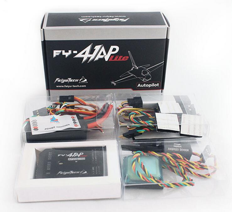 Feiyu Tech FY-41AP Lite AFSS & OSD Autopilot Flight Control System FY-41AP-Lite For RC Fix wing Airplane fy 41ap m flight stabilization system fpv gps osd autopilot for quadcopter integrate with osd module