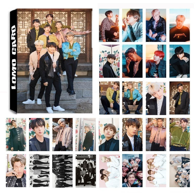 Photo-Card Magazine Self-Made Boys Kpop Bangtan 30pcs/Set