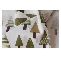 القطن الكتان النسيج شجرة المطبوعة القماش أريكة وسادة الوسائد