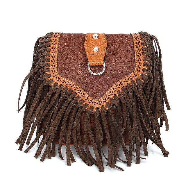 Boho Fringe Crossbody Bag