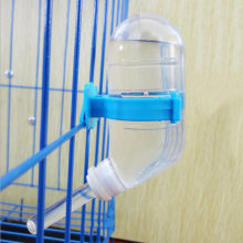 1pc Plastic Hamster Water Bottle Dispenser Feeder Cage Hanging Pet Dog Rabbit Small Animals Products Drinking Head Pipe Fountain(China)