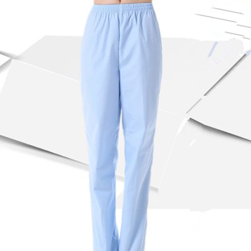 06d823a3d85 Unisex Medical Uniforms Hospital Nurse Pants Female Doctors Nursing  Workwear Nurse Medical Pants Elastic Waist Trousers 3 colors-in Scrub Tops  & Bottoms ...