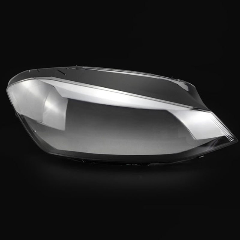 for V olkswagen Golf 7 headlights glass mask lampshade transparent shell lamp lens protection cover 2