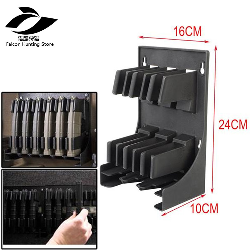 30 Round AR15 Airsoft Hunting Caza Tactical  5.56 .223 Caliber Mags MAG Pouch Rack Magazine Storage Holder