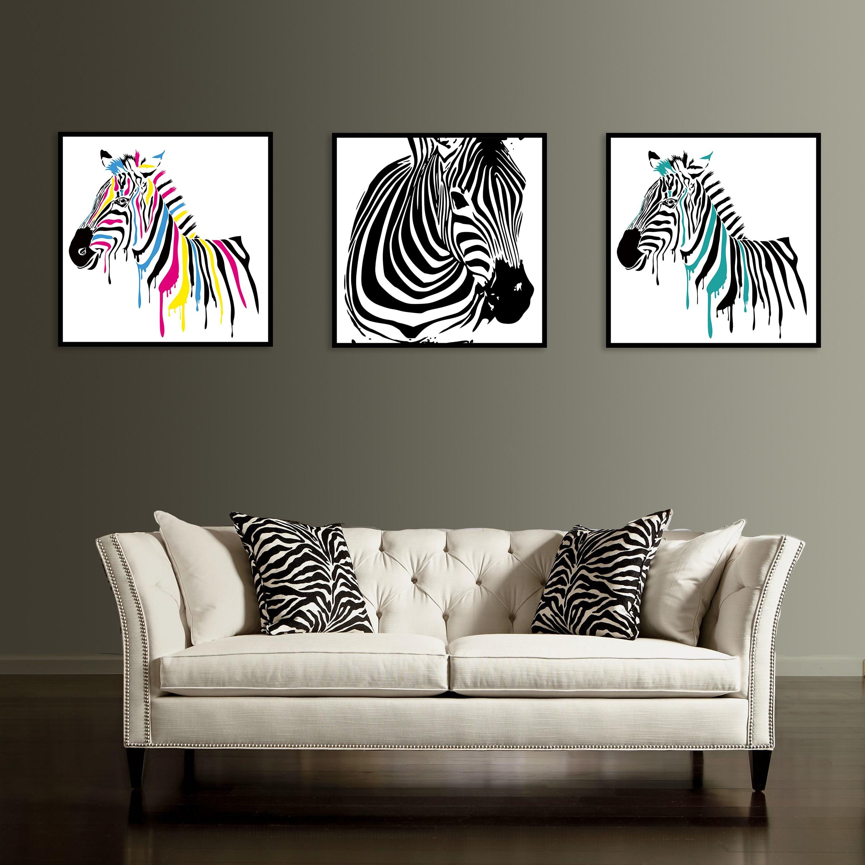 Zebra Print Living Room Online Get Cheap Zebra Print Bedroom Decor Aliexpresscom