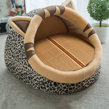 Patterned Comfy Dog Bed