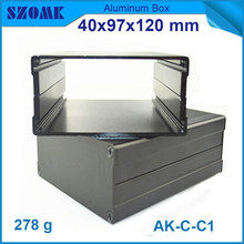 4pcs/lot top sales szomk aluminum profiles electronic junction housing case for power supply 40*97*120mm