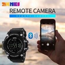 SKMEI Brand Men Digital Wristwatches Smart Watch Big Dial Fashion Outdoor Sports Watches EL Backlight Waterproof