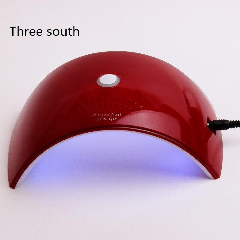 THREE SOUTH lamp for nails SUNQ18 36W 18 LEDS UV LED Lamp Nail Fingernail Nail Dryer