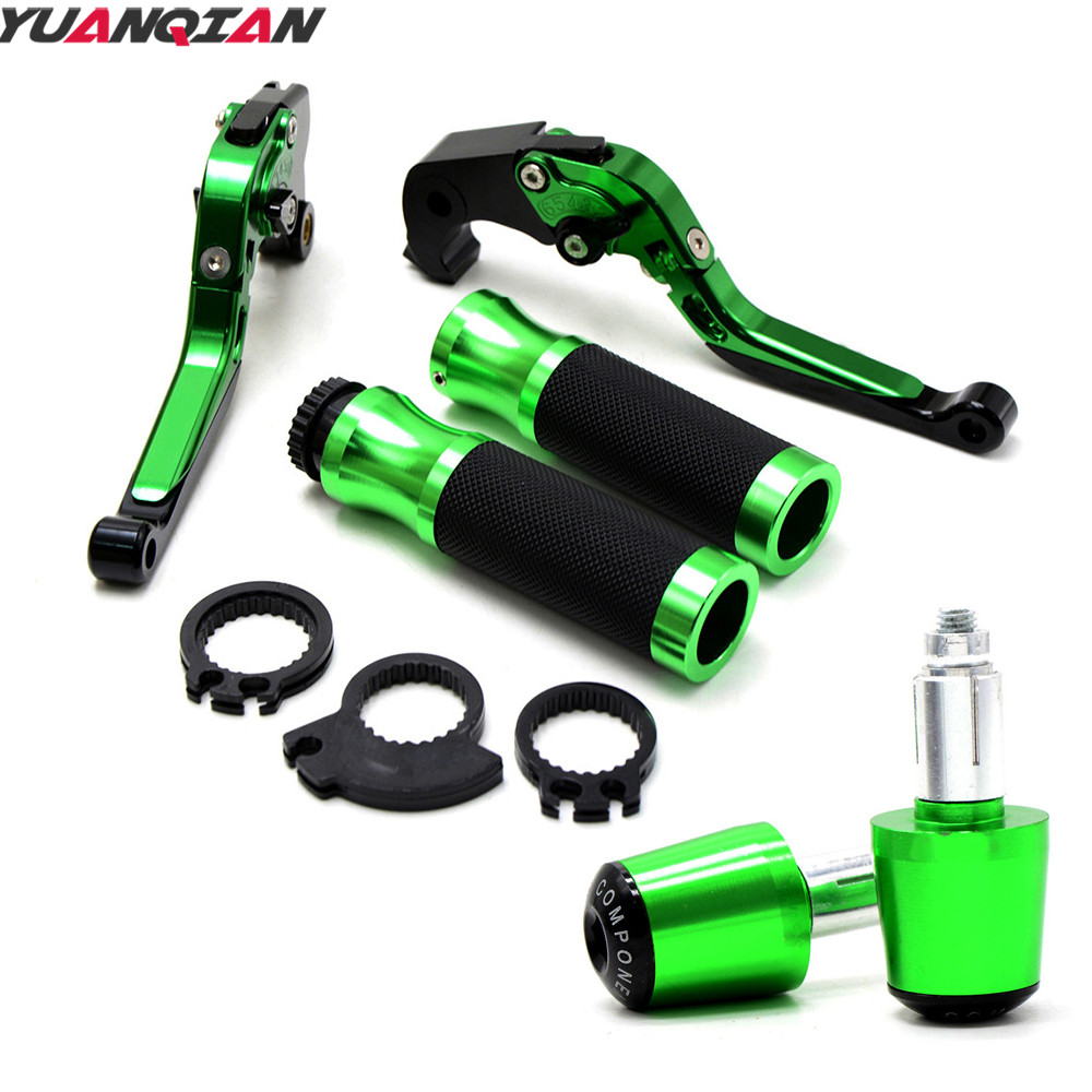 Motorbike Brake Clutch Levers Handlebar Grips Ends Hand Grips For Kawasaki NINJA 300R Z800 / E version Z 800 2013 2014 2015 2016 for kawasaki ninja 250 ninja250 2008 2015 ninja 300 ninja300 2013 2015 motorcycle aluminum short brake clutch levers black