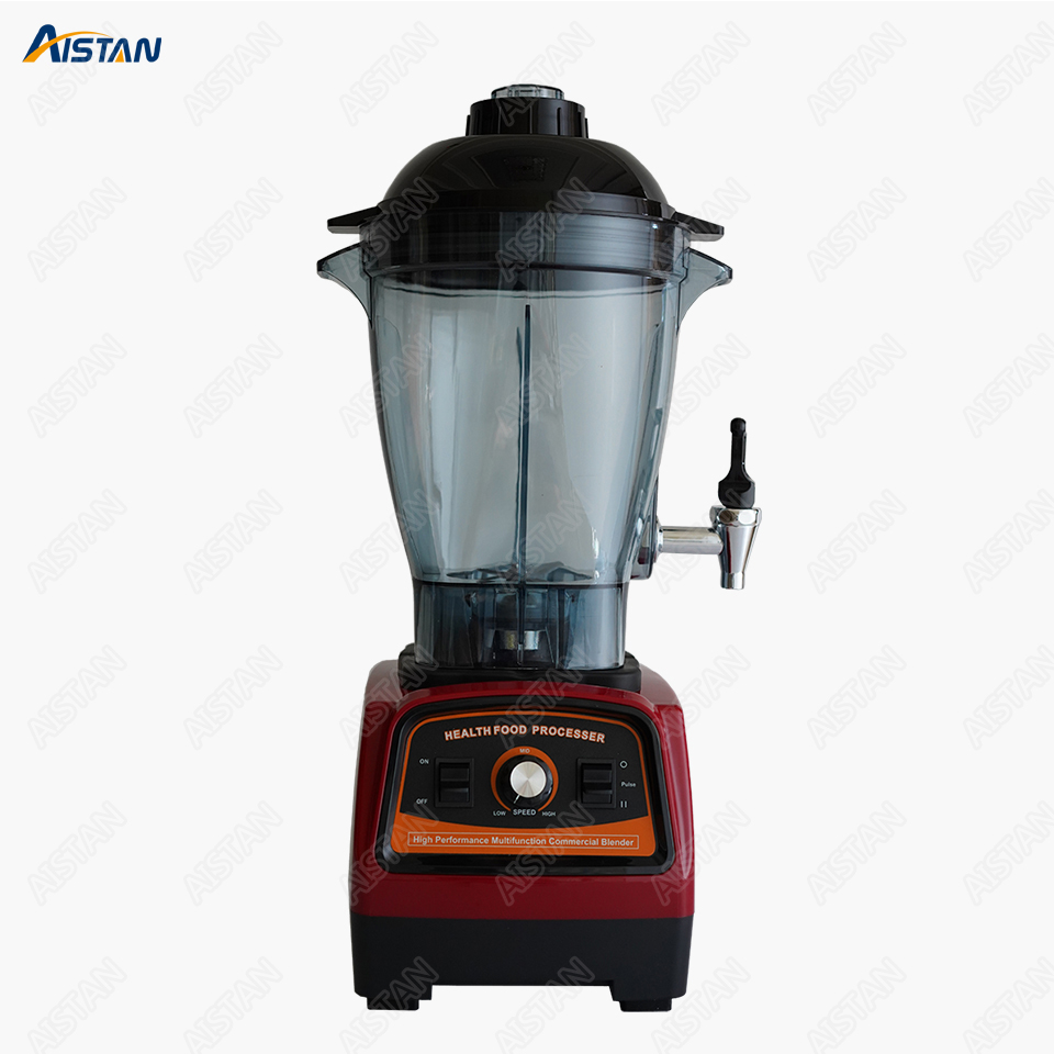 A7600 Bar Blender Kitchen Food Mixer High Speed Blender Mixer 6 Liters 3.3HP 2800W BPA Free For Commercial Use Red Black