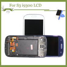 100% Tested AAA+ For Samsung Galaxy S3 i9300 Highscreen LCD Display Touch Screen Digitizer Assembly Replacement