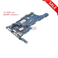 Nokotion 6050A2560201 MB A03 для hp ELITEBOOK 840 G1 Материнская плата ноутбука I7 4600U intel GMA HD4400 испытанная графика