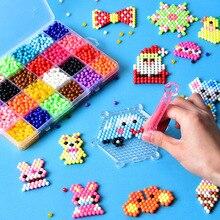 3000 шт./компл. 5 мм, Фурнитура для бижутерии, распыления воды волшебный бисер формы в виде животного ручной выделки 3D бусины Пазлы Обучающие шарики, игрушки для детей