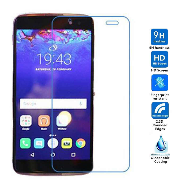 2PCS For Alcatel One Touch Idol 4 Idol4s 6055K 6070K 5 2 5 5 inch Tempered  Glass Screen Protector For Alcatel Idol 4s Idol4 Film