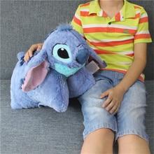"1 stycke 42 * 50cm Lilo & Stitch 626 plysch leksaker kudde födelsedag fylld present 19,6 """