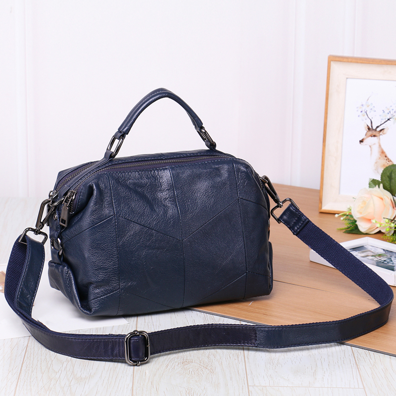 Luxury New Genuine Leather Women Handbag Casual Girls Shoulder Bag Female Crossbody Bag Women Messenger Bag