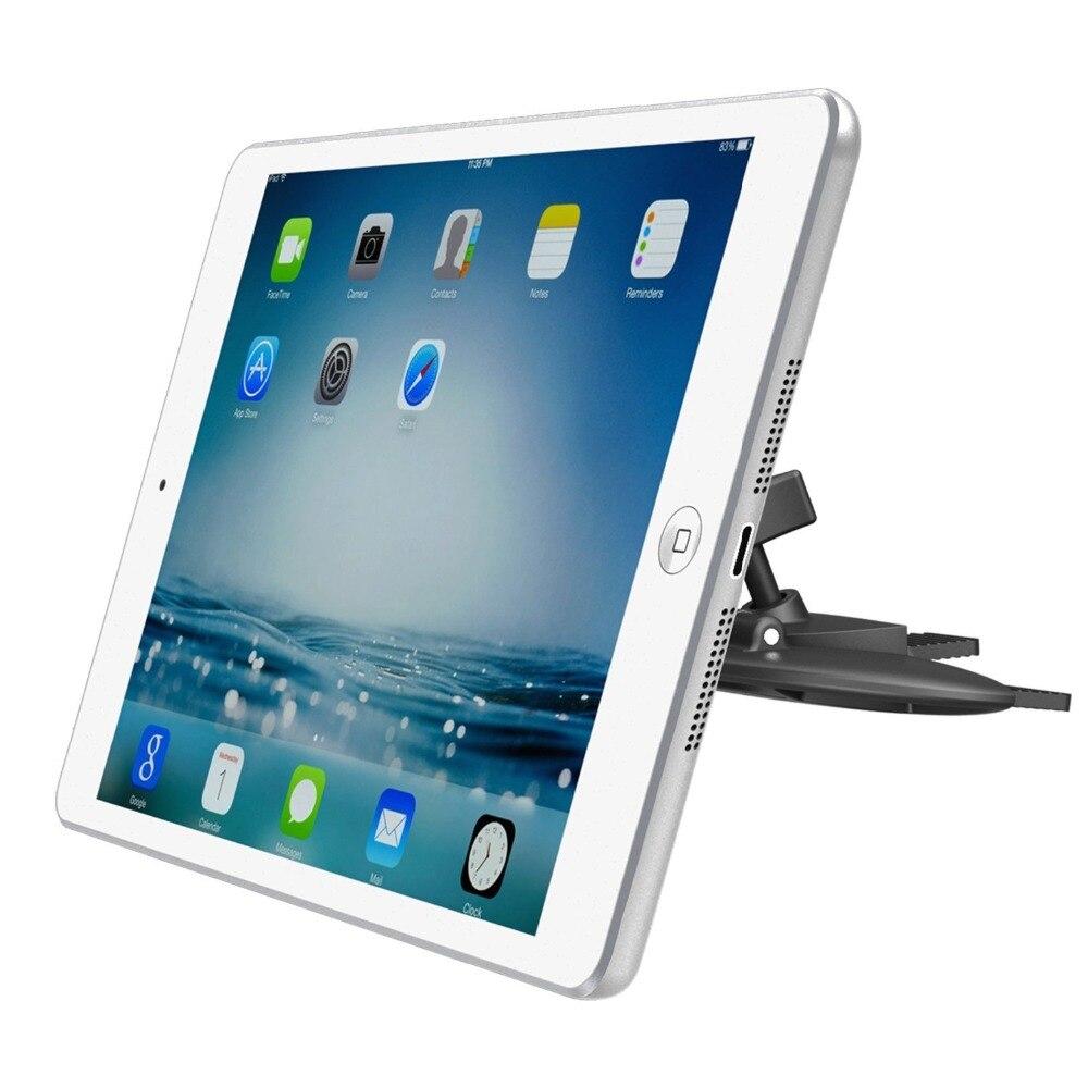 imágenes para APPS2Car CD Slot Car Mount Holder Soporte Universal de la Tableta Magnética para Las Tabletas y Los Teléfonos Inteligentes GPS Se Adapta al iPad Mini Samsung Galaxy Tab