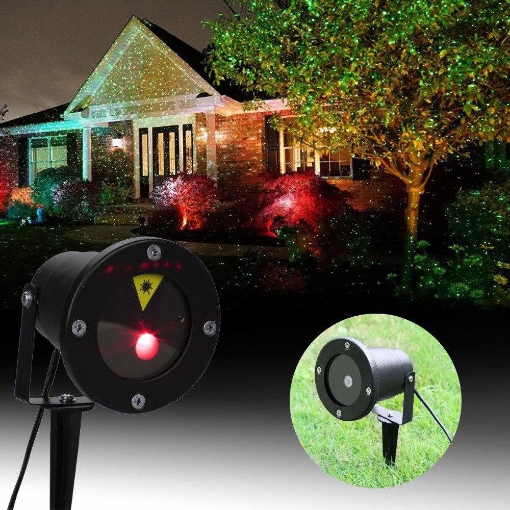 (schiff Von Uns) Rot Grün Laser Projektor Landschaft Beleuchtung Firefly Led Outdoor Garten Rasen Lichter Weihnachten