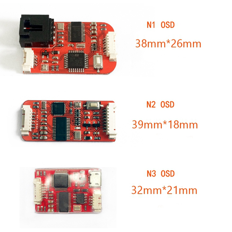 Free Shipping FPV N1 N2 N3 Mini OSD for Flight Controller Phantom 2 NAZA V1 V2 Lite Remzibi GPS For FPV RC Models f18471 m8n gps compass module for naza m v2 lite flight controller board