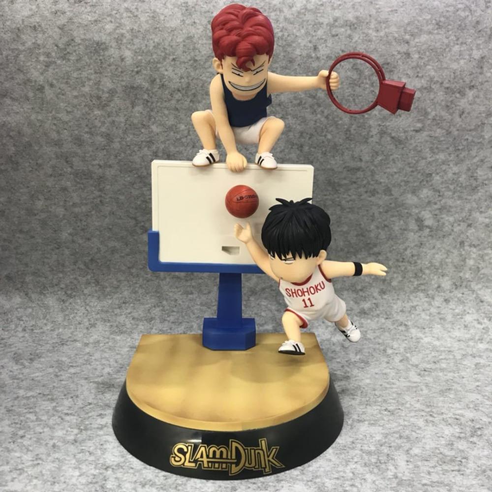 """new Slam Dunk Shohoku NO.11 Kaede Rukawa 11/"""" Figure  no box Birthday Gift"""