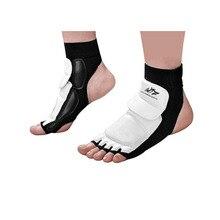 WTF таэквондо перчатки для защиты ног для взрослых и детей, поддержка лодыжки, Боевая защита для ног, носки для кикбоксинга, Боевая тренировка в тренажерном зале
