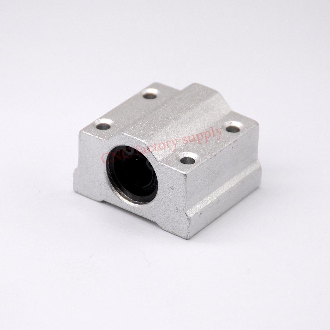 HOT sale 1pc SC10UU SCS10UU 10mm Linear Ball Bearing Block CNC Router hot sale 1pc lm20uu linear bushing 20mm cnc linear bearings