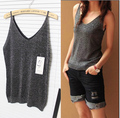 2016 new camisoles for women summer sequined paillette T shirts woman tank tops femininas silver white.black,purple,blue,red