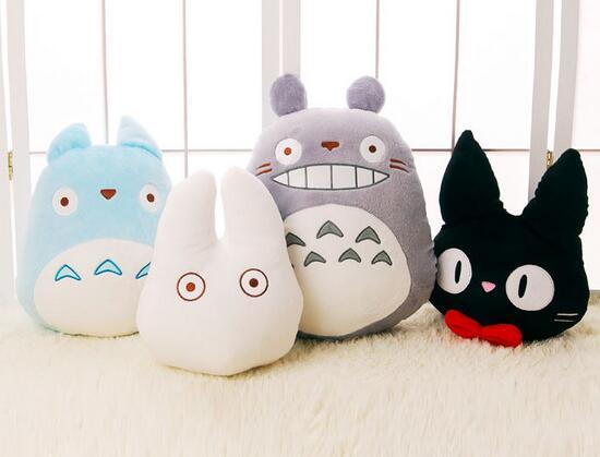 Japonia Anime Totoro Totoro Pluszowa Zabawka Nadziewane Poduszka