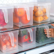 Sealed Crisper Refrigerator Food Storage Box /large capacity kitchen storage tools creative food storage box