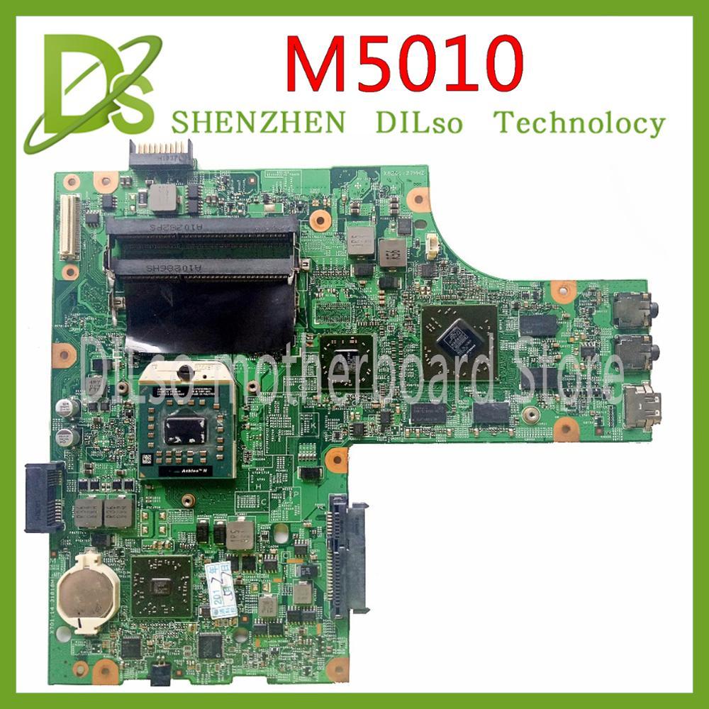 KEFU M5010 For DELL Inspiron 15R M5010 CN-0HNR2M 0HNR2M 09909-1 48.4HH06.011 HM57 HD5650 GPU Original Test Motherboard