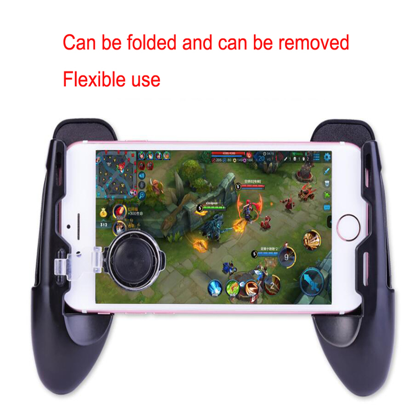 1PC Mobile Phone Mobile Game Trigger Shooting Controller Pubg Fire Button Handle For Android iOS image